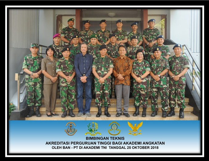 LAPORAN HASIL BIMTEK AKREDITASI PT BAGI AKADEMI ANGKATAN DI MAKO AKADEMI TNI